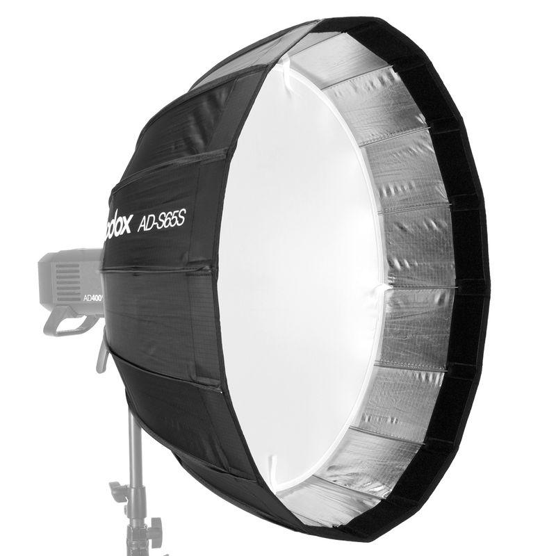 Godox-AD-S65S-Softbox-Parabolic-65cm--Montura--Godox-pentru-AD400PRO