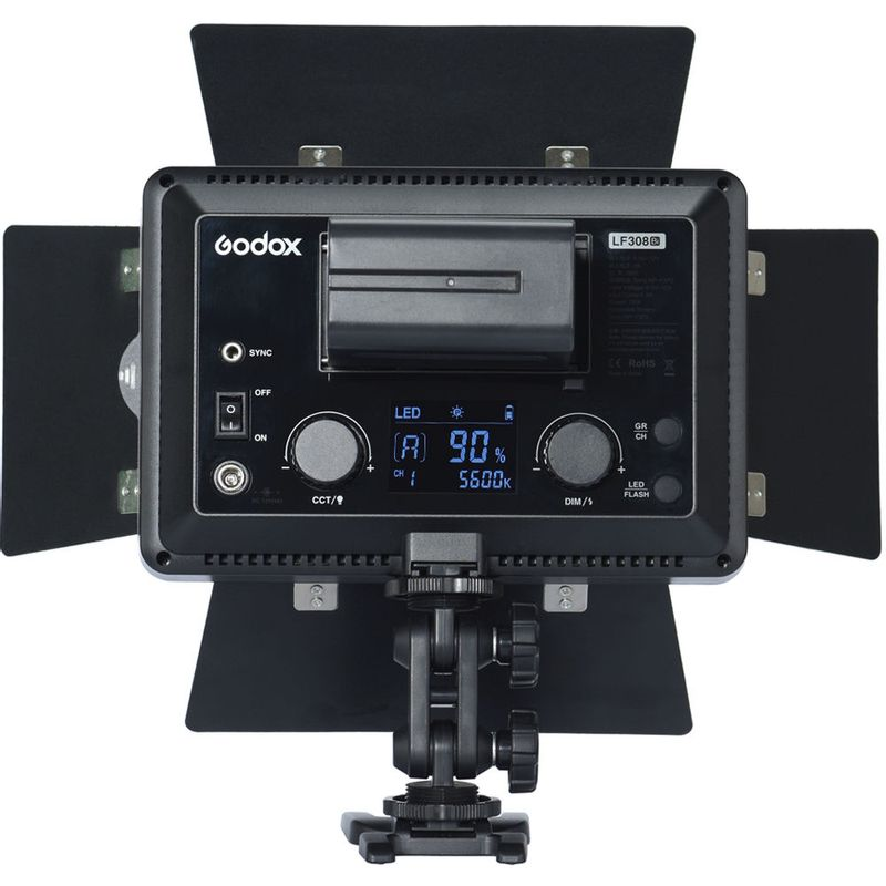 Godox-LF308BI-Lampa-Video-LED-Bicolora-cu-Functie-Flash.5