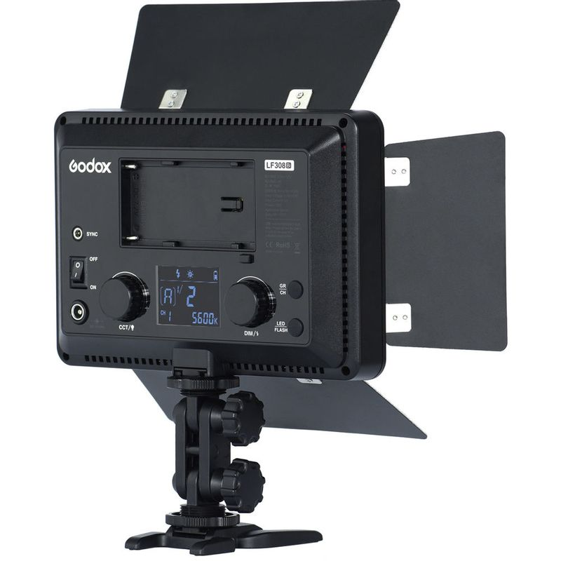 Godox-LF308BI-Lampa-Video-LED-Bicolora-cu-Functie-Flash.7