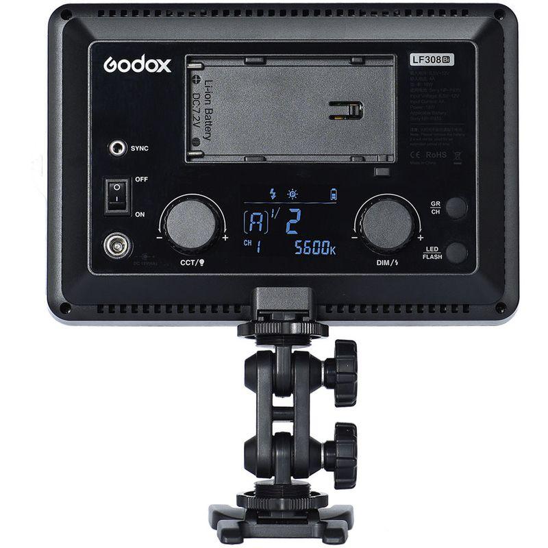 Godox-LF308BI-Lampa-Video-LED-Bicolora-cu-Functie-Flash.9