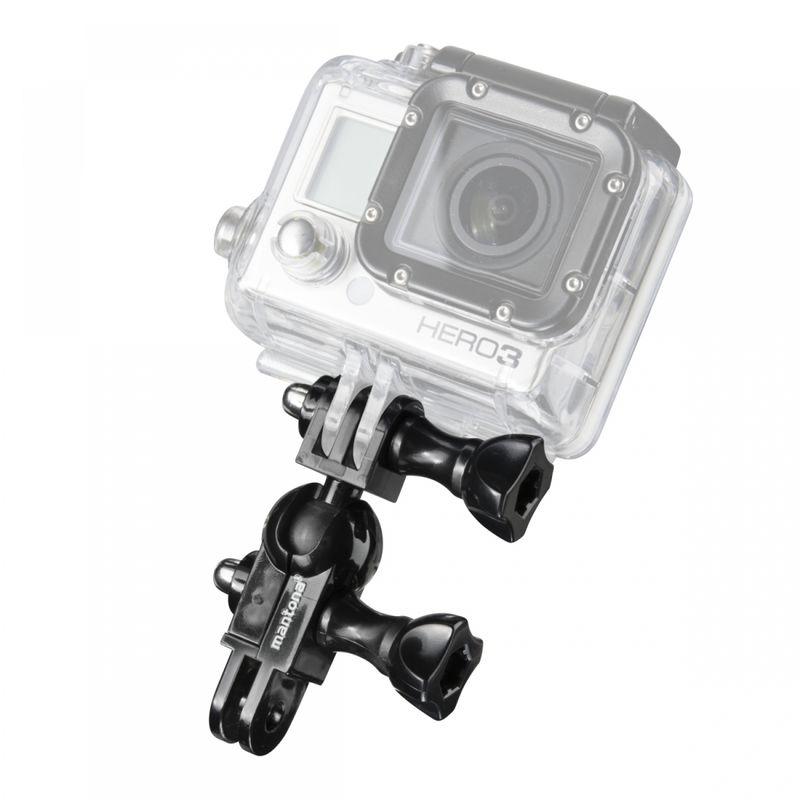 Mantona-Mini-Ball-Head-Holder-pentru-GoPro-