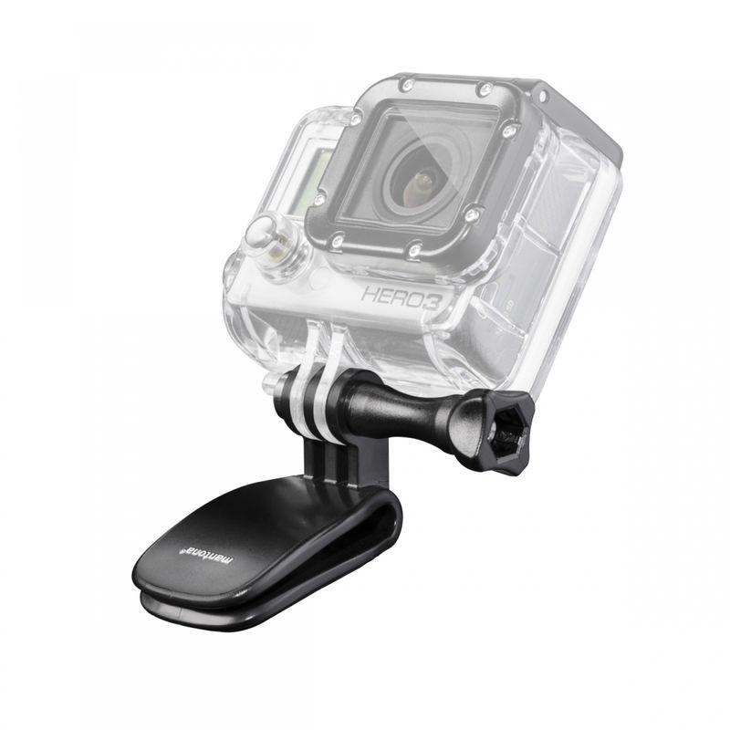 Mantona-Mini-Clamp-cu-Surub-Lung-pentru-GoPro-Hero-