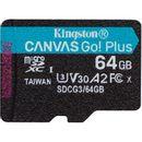 Kingston Canvas Go! Plus Card MicroSD 64GB U3 V30