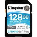 Kingston Canvas Go! Plus Card de Memorie SDXC 128GB UHS-I