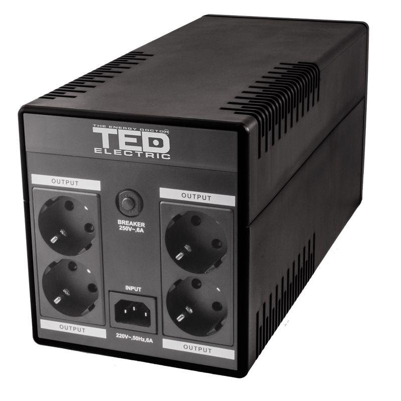 TED-UPS-Expert-1600VA---900W-Line-Interactive-cu-Stabilizator-4-Iesiri-Schuko-si-Display-LCD