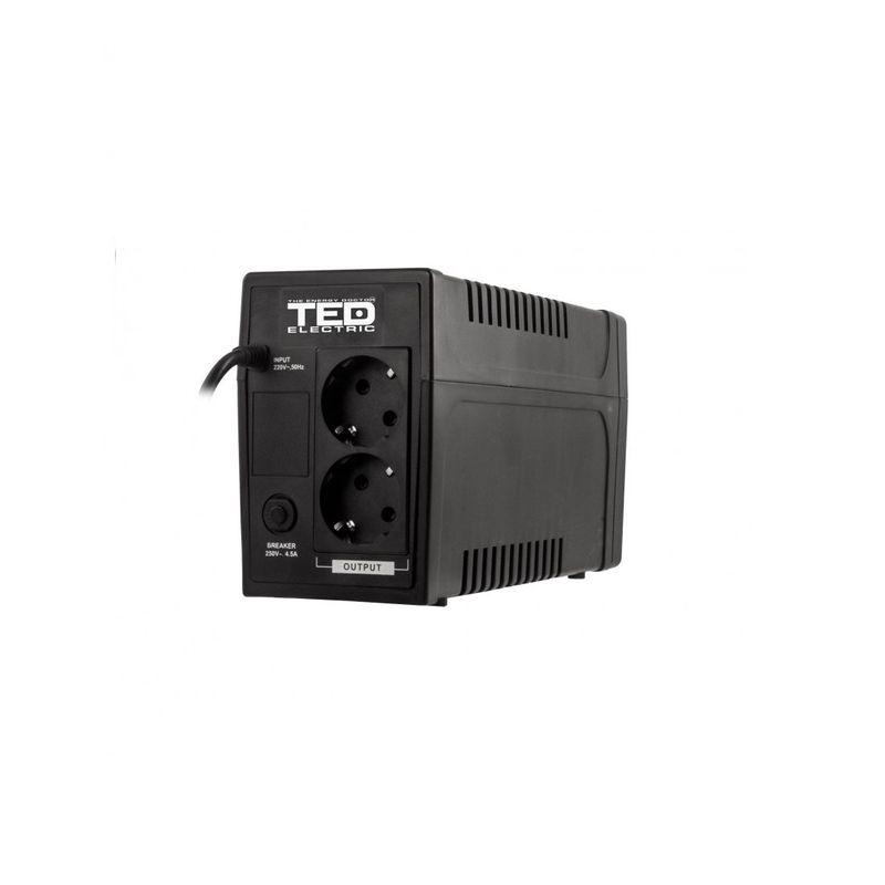 TED-Electric-UPS--900VA---500W-Line-Interactive-cu-2-Iesiri-Schuko-si-Display-LCD-