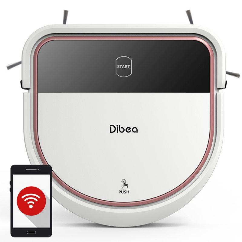 Dibea-D500-Aspirator-Robot-Programare--Aplicatie-Mobila-Calculare-Cale--WI-FI
