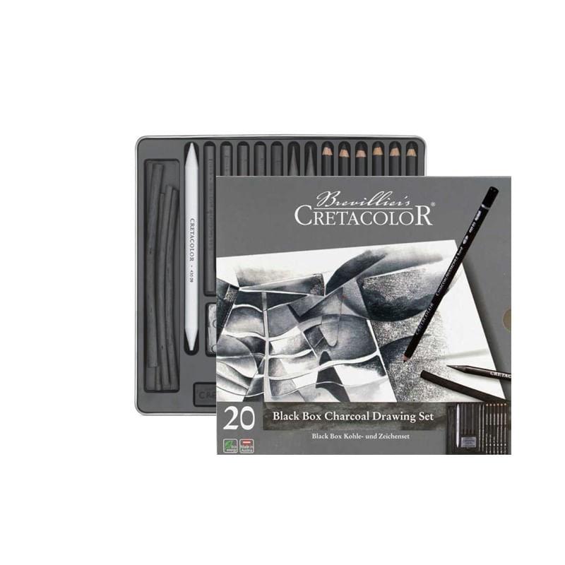 set-creioane-black-cretacolor