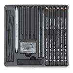 set-creioane-black-cretacolor--3-