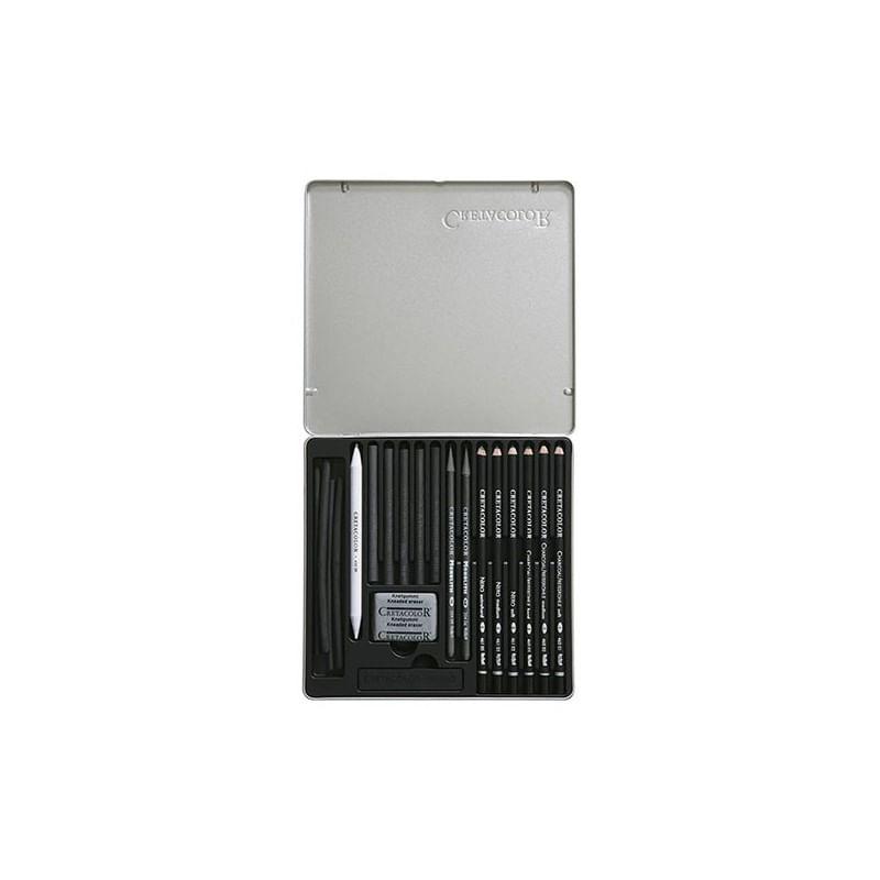 set-creioane-black-cretacolor--2-
