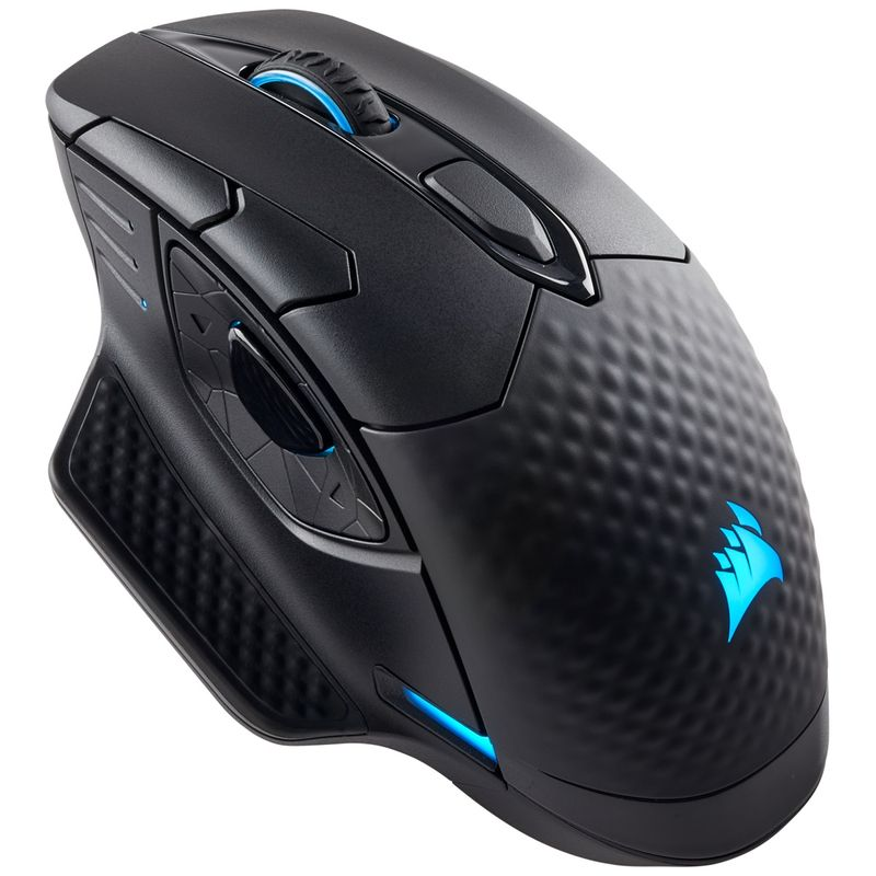 Corsair-Dark-Core-RGB-Mouse-Gaming--cu-Fir---Wireless-Senzor-Optic-16000DPI-Negru