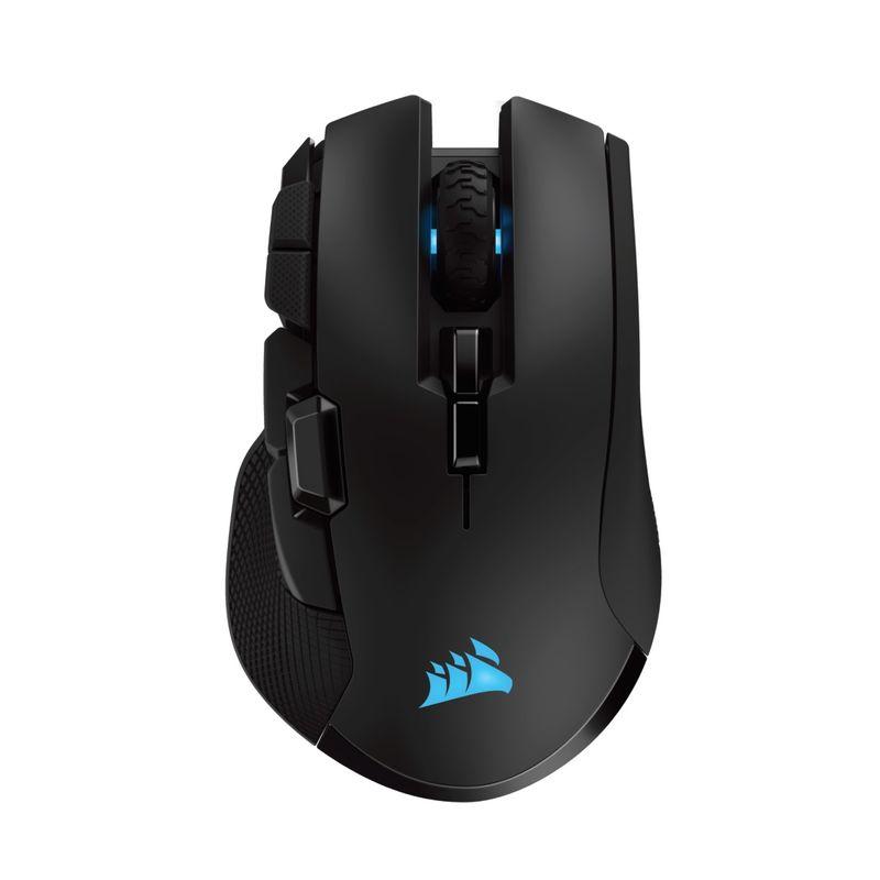 Corsair-Ironclaw-RGB-Mouse-Wireless-Gaming-Senzor-Optic-18000DPI-Bluetooth-2.4Ghz-Negru