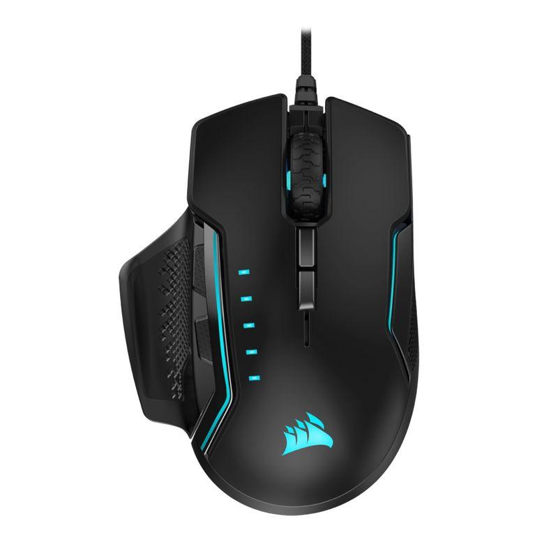 Corsair-Glaive-PRO-RGB-Mouse-Gaming-Senzor-Optic-18000DPI-Negru
