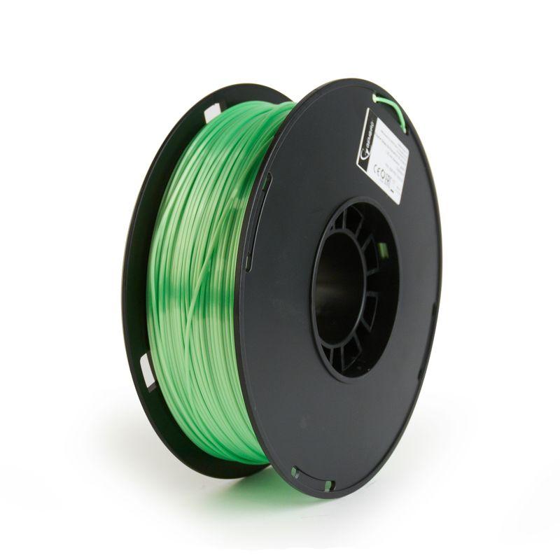 Gembird-Filament-Polymer-175mm-1kg-Glossy-Silk-Green