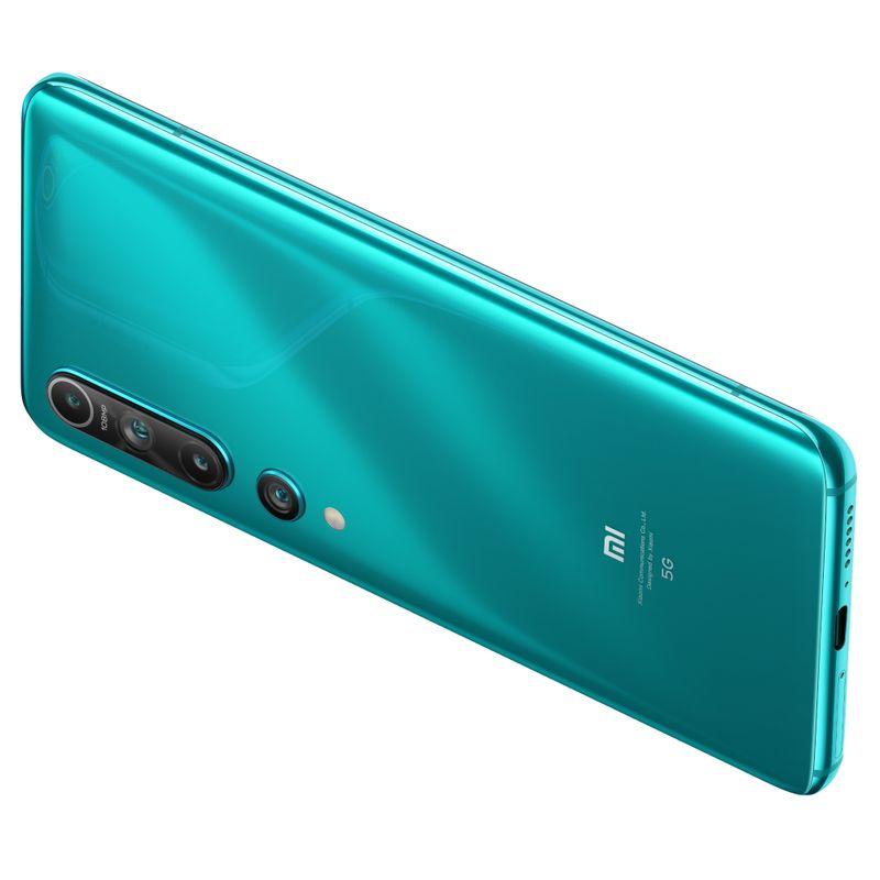 Telefon-mobil-Dual-SIM-Xiaomi-Mi-10-5G-256-GB-8-GB-RAM-Coral-Green-7