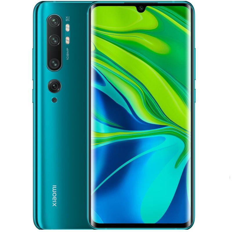 Telefon-mobil-Dual-SIM-Xiaomi-Mi-Note-10-256GB-8GB-RAM-LTE-Aurora-Green