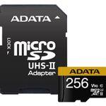 ADATA-Card-de-Memorie-MicroSDXC-256GB-Class-10-CititScris-275155MBps---Adaptor