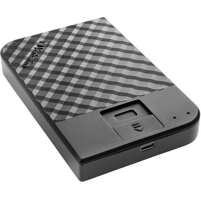 Verbatim-Fingerprint-Secure-HDD-Extern-2TB-2.5-inche-AES-256-Encryption-USB-3.1-Gen-1