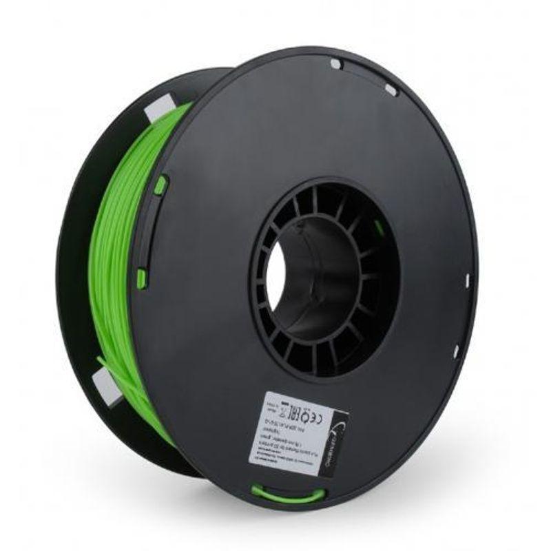 GEMBIRD-3DP-PLA1.75-01-FG-Filament-Gembird-PLA-Fluorescent-Verde-175mm-1kg