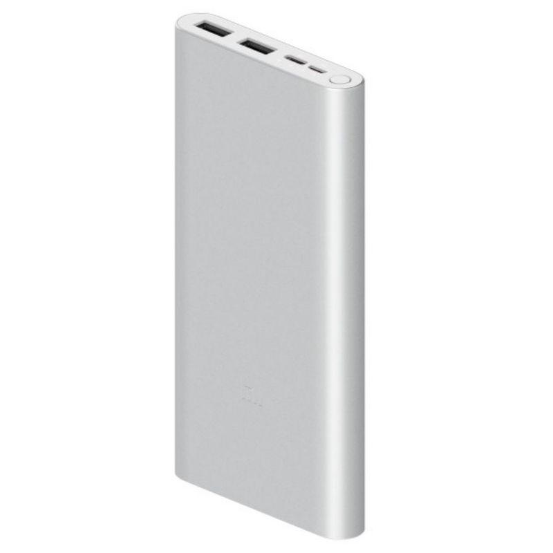 Xiaomi-MI-Power-Bank-3-Acumulator-Portabil-Universal-10000-mAh-Fast-Charge-18W-Argintiu