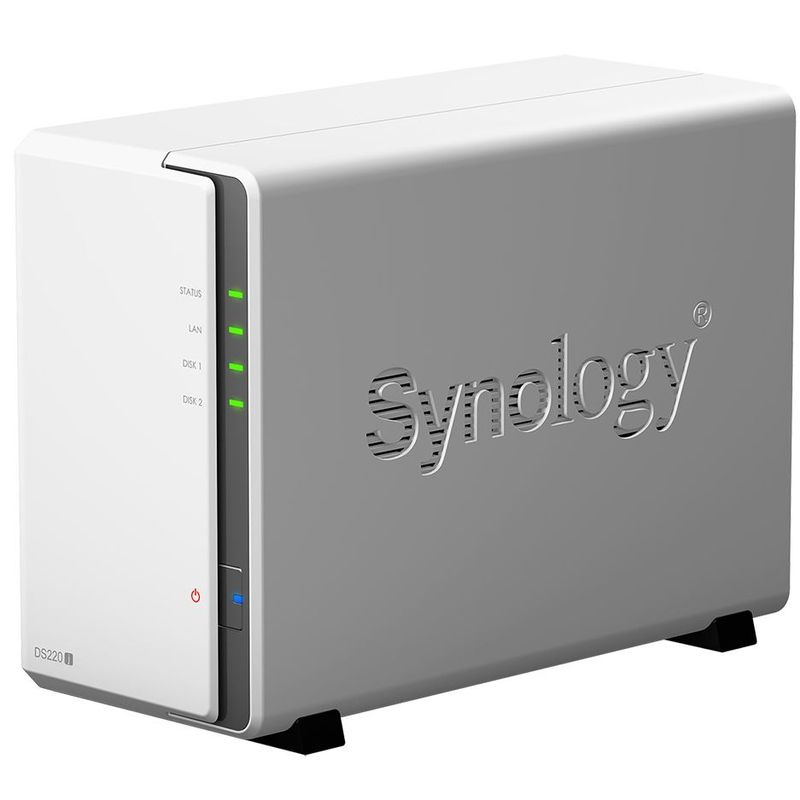 Synology-DS220j-Network-Attached-Storage-procesor-1.4-GHz-Quad-Core-512MB-DDR4-2-Bay