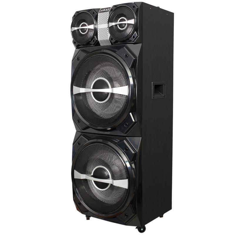 Akai-DJ-T5-Boxa-Activa-Fixa-Bluetooth-300W-Neagra