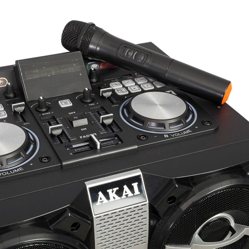 Akai-DJ-T5-Boxa-Activa-Fixa-Bluetooth-300W-Neagra-3