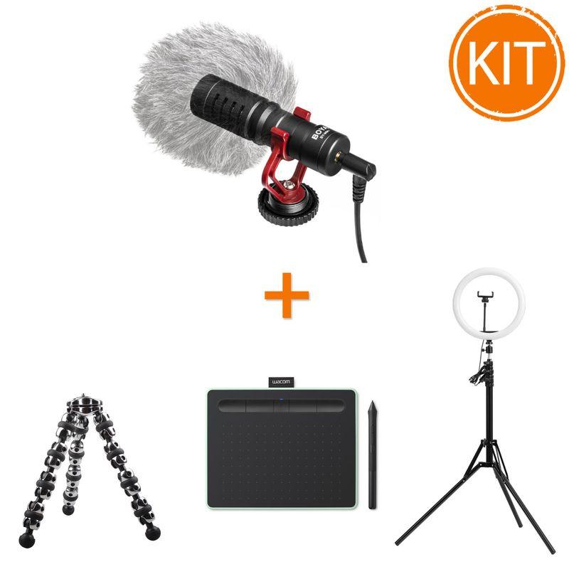Kit-Telescoala-cu-Tableta-Grafica-Wacom-Intuos-S-Bluetooth