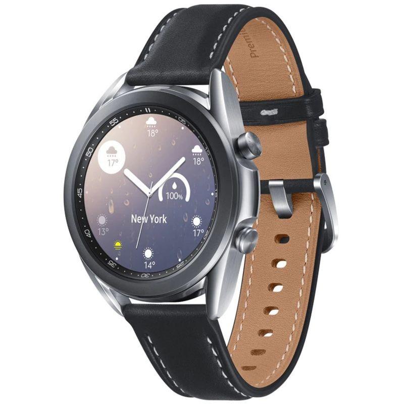 Samsung-Galaxy-Watch-3-41-mm-Smartwatch-Bluetooth-Stainless-Steel-Argintiu