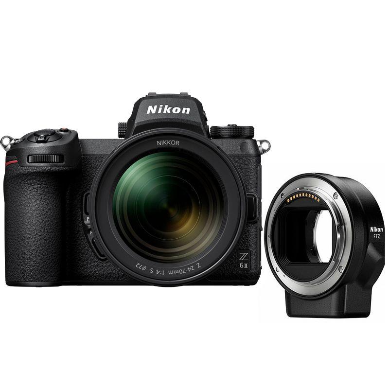 Nikon-Z-6-II-kit-24-70---FTZ-mirrorless