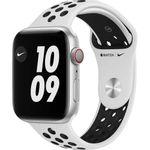Apple Watch Nike S6 GPS + Cellular 44mm Silver Aluminium Case Pure Platinum/Black Nike Sport Band