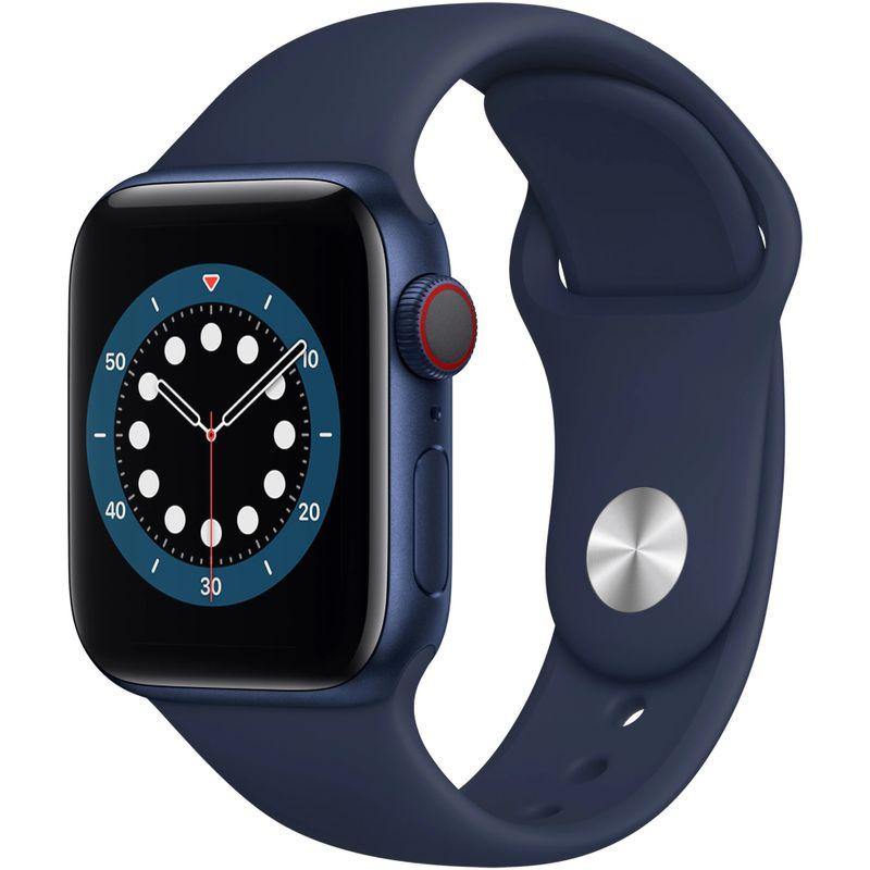 Apple-Watch-S6-GPS---Cellular-40mm-Blue-Aluminium-Case-Deep-Navy-Sport-Band