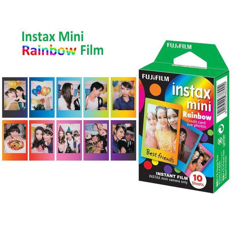 Genuine-Fujifilm-Instax-Mini-8-Film-Rainbow-10pcs-for-FUJI-Mini-9-11-70-25-90