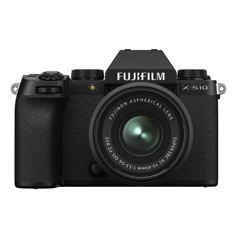 Fujifilm-X-S10---XC15-45-Negru