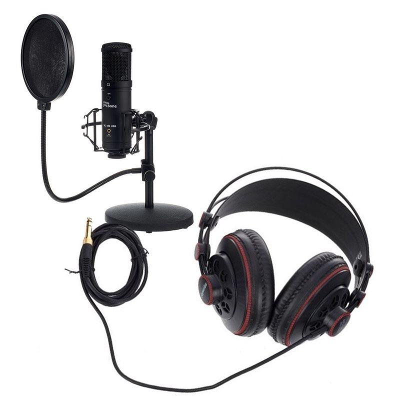The-t.bone-SC-420-USB-Podcast-Kit-Microfon-si-Casti-Studio