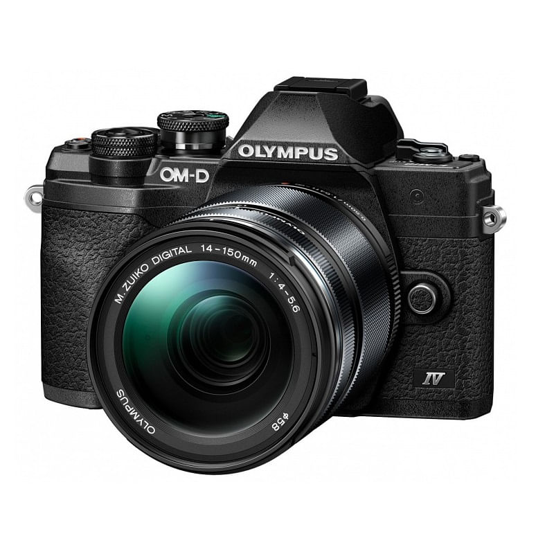 Olympus-OM-D-E-M10-Mark-IV-kit-14-150mm-f-4-5.6-II-fekete-fekete