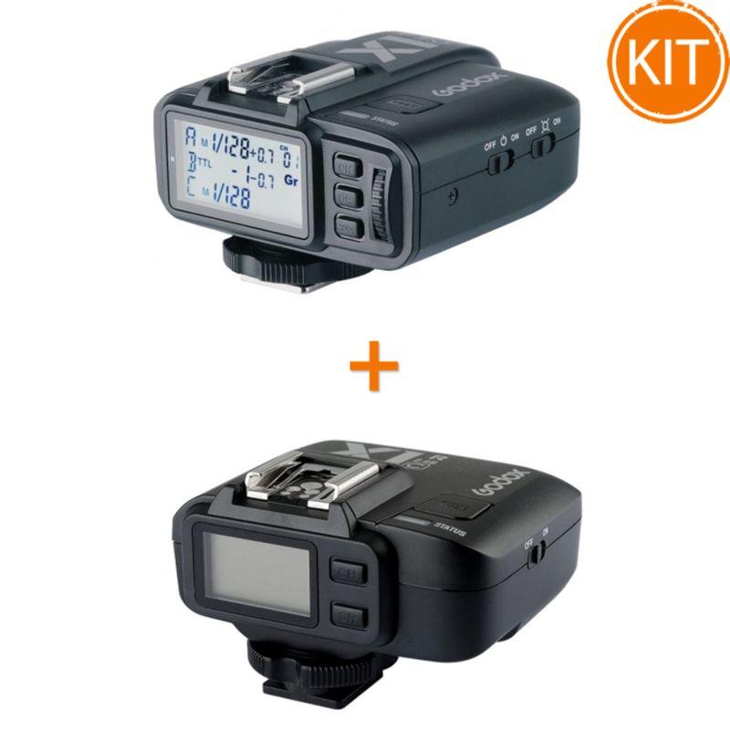 Kit-Godox-X1C-Transmitator---X1R-C-Receptor-2.4G-TTL-pentru-Canon