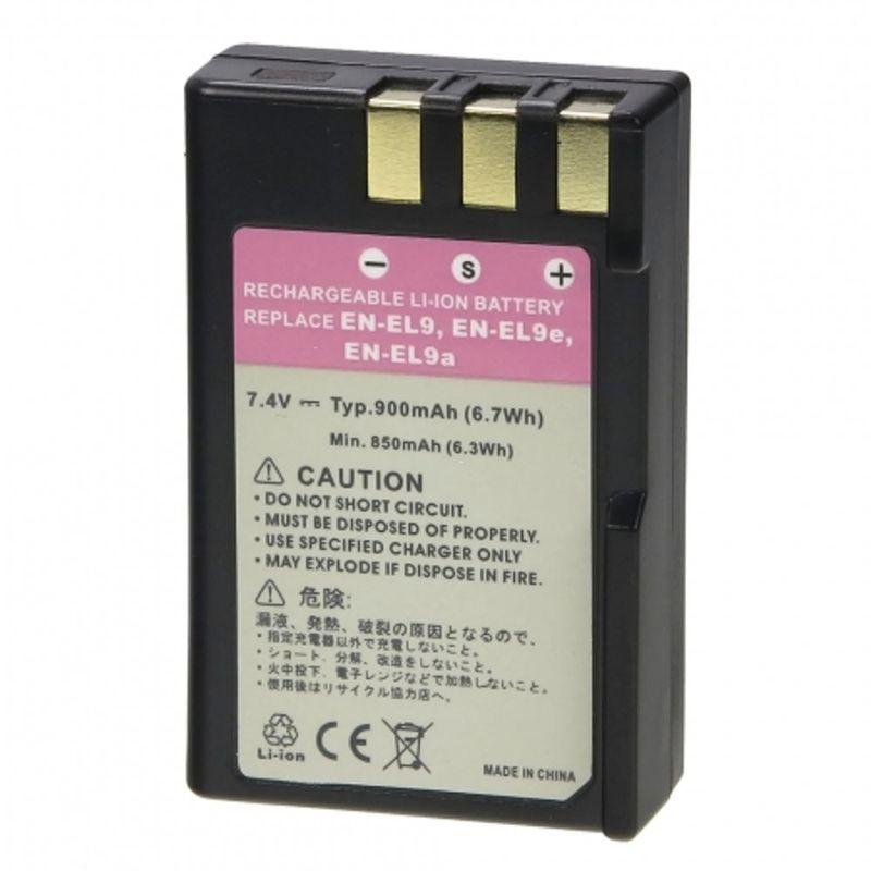 Acumulator-Replace-Tip-Nikon-EN-EL9a-900mAh