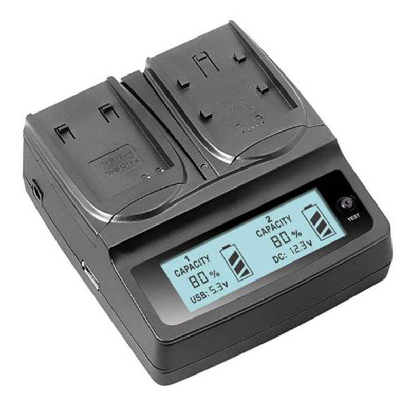 3153_const_twin_multi-functional_battery_charger_with_lcd_display_for_canon_lp-e6