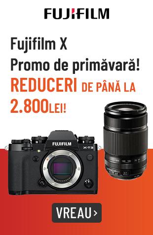 [MM] Fujifilm X - Promo de primavara